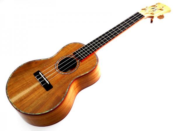 Lehua Premium-Koa Concert aus Massivholz