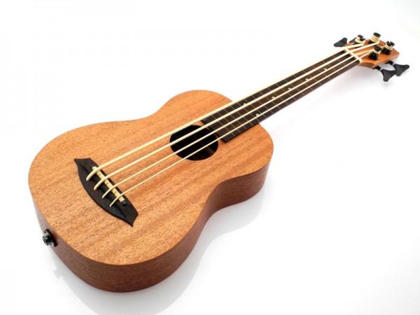 koki'o Bass Mahagoni, Fretless, Elektrisch