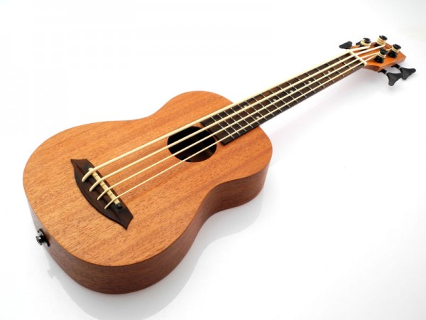 koki'o Bass Mahagoni, Bundiert, Elektrisch